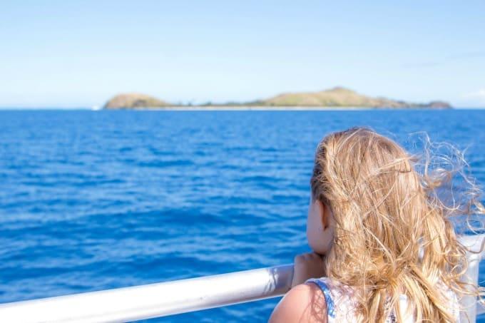 Cruising through the Fiji Island