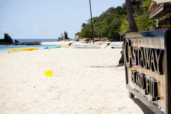 Castaway Island Resort in the Fiji Islands