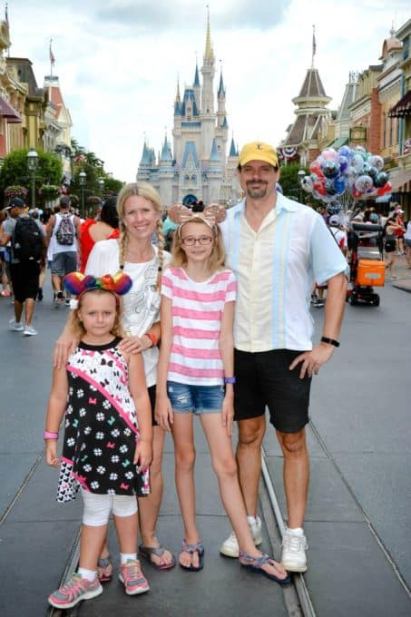 Family Time at Disney World