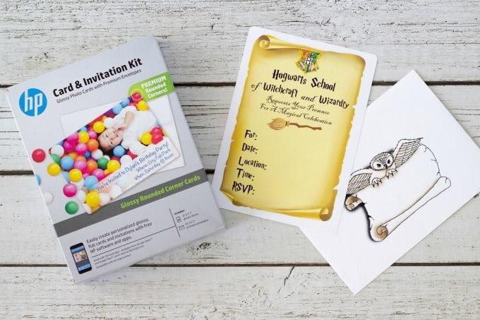 Harry Potter Invitation Kit