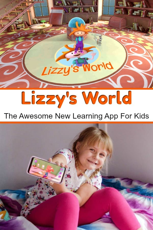 Lizzy's World - This new game for kids teaches reading skills as kids explore Lizzy's World. #ad #Playing4ward #LizzysWorld #reading #gamesforkids #kidsapp #games