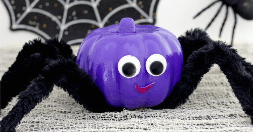Spider Pumpkin Facebook