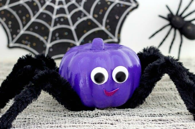 Spider Pumpkin Feature