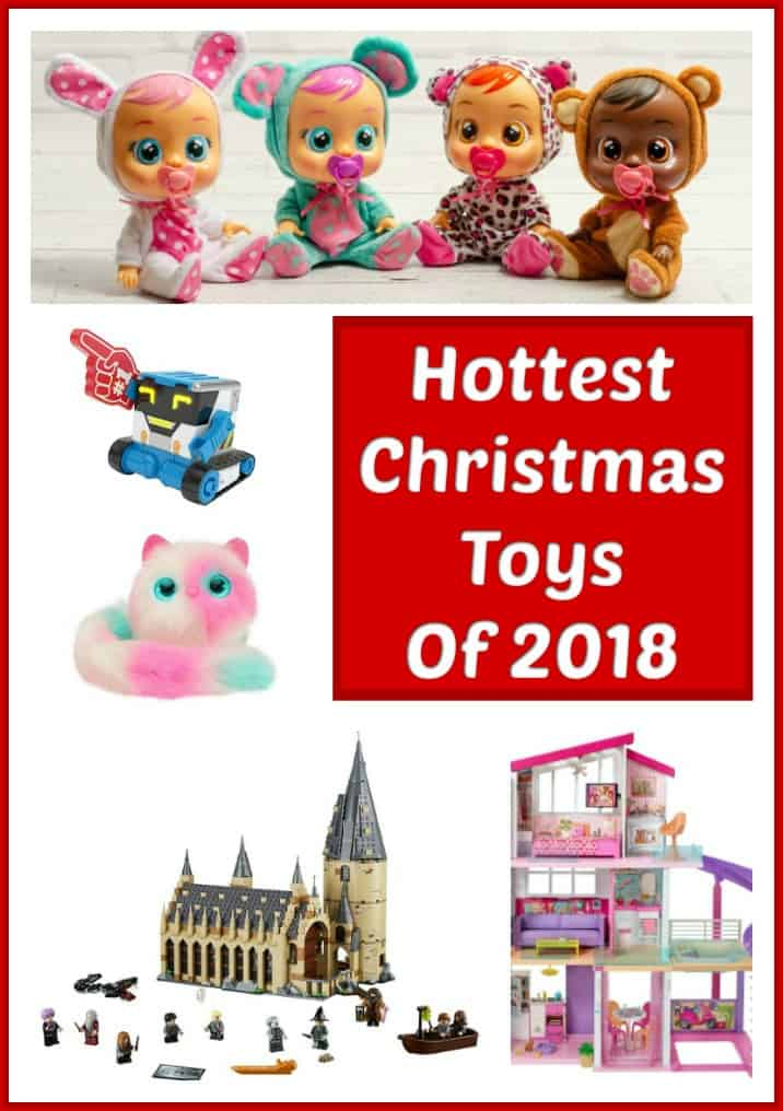 Hottest Christmas Toys - Looking for the hottest toys for Christmas 2018? These popular toys that will have the kids squealing on Christmas morning! #toys #hottesttoys #hottesttoysforchristmas #christmastoys #christmas