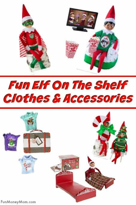 Fun Elf On The Shelf Clothes And Accessories Fun Money Mom