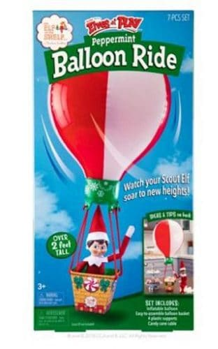 Peppermint balloon ride