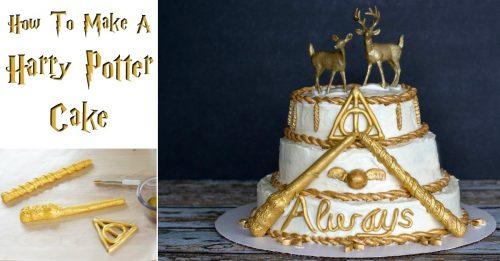 Harry Potter Cake facebook
