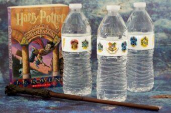 Harry Potter labels feature