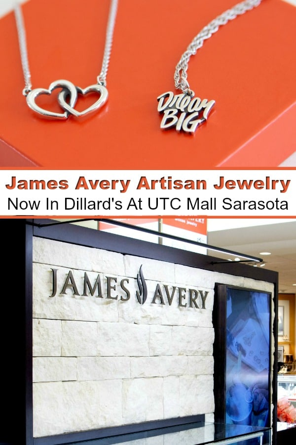 James Avery - Want a Christmas gift that comes from the heart? James Avery Artisan Jewelry makes beautifully crafted pieces that tell a story. Find your favorite at their new location in Dillard's at University Town Center Mall in Sarasota. #ad #MyJamesAvery #JamesAveryArtisanJewelry #gifts #giftgiving
