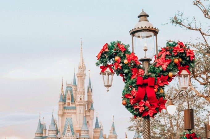 Mickey wreaths are everywhere
