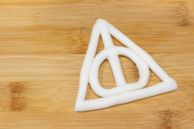 Deathly Hallows symbol finished