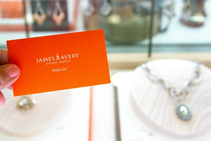 James Avery wish list