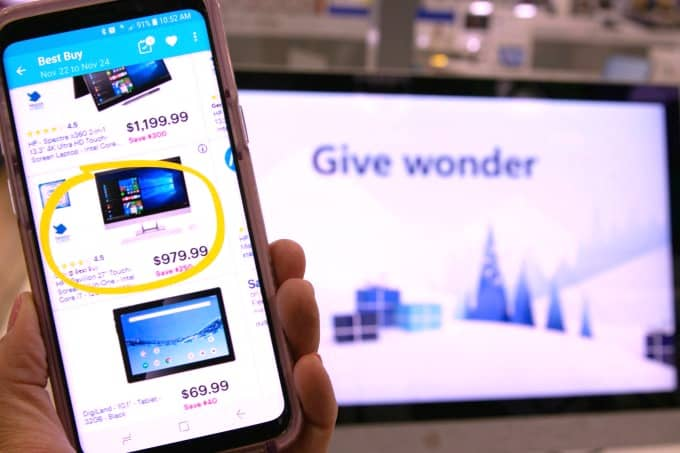 Get the best Black Friday deals with the Flipp app