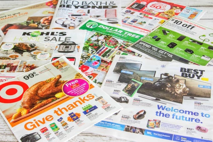 Circulars are often used to find Black Friday deals