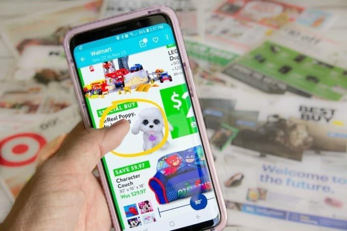 Find deals on holiday toys with the Flipp app