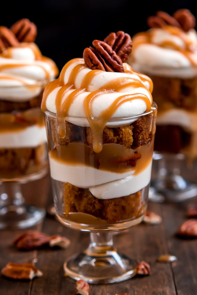 Caramel Pecan PumpkinTrifle