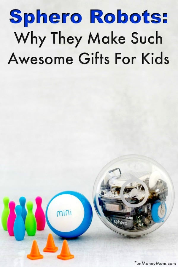 Sphero Robots - Looking for holiday gifts for kids that encourage learning though play? These awesome Sphero products help teach kids coding through STEAM learning. They make great Christmas gifts and it's a win/win for both kids and mom! #ad #SpheroHoliday #IC #giftgiving #funforkids #giftsforkids #codingforkids