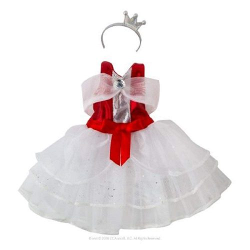 Peppermint Princess Gown for the Elf On The Shelf