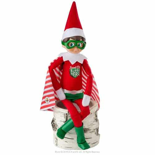 Elf On The Shelf superhero