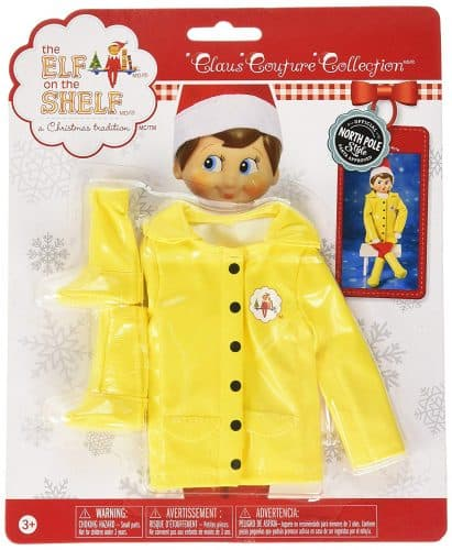 Elf On The Shelf raincoat