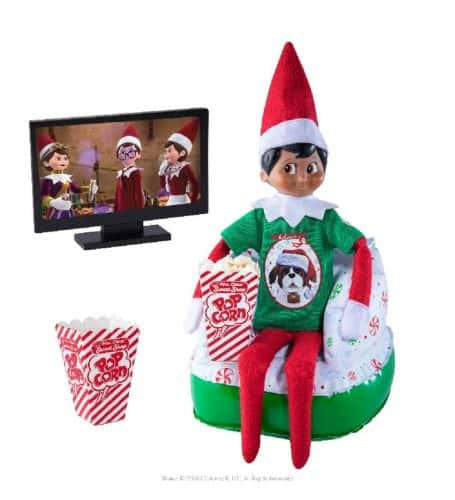 Elf movie night set