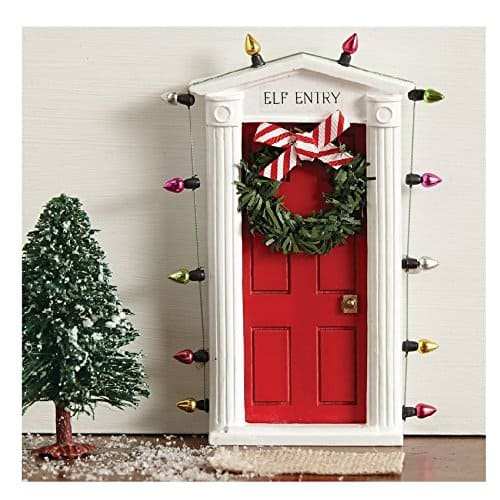 Elf entry door