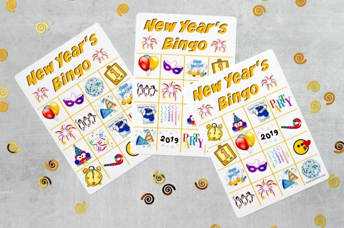 New Year's Eve Bingo Feature