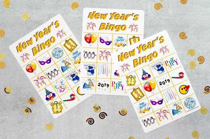 New Year's Eve Bingo Feature