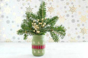 Christmas mason jar feature