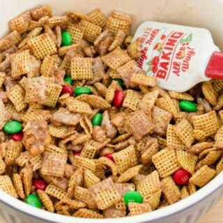Holiday Party Mix Recipe With Snickers And M&M's