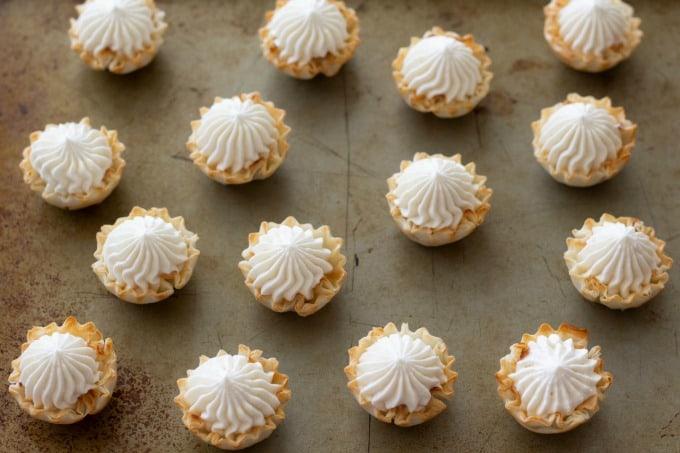 No bake cheesecake makes a perfect bite size dessert