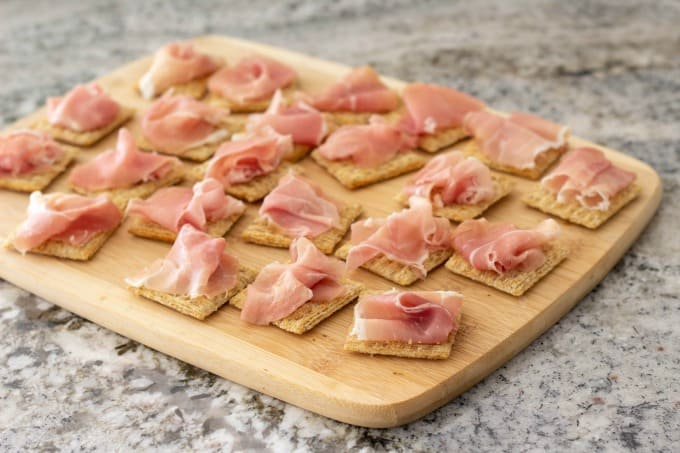 This prosciutto appetizer is so simple to make