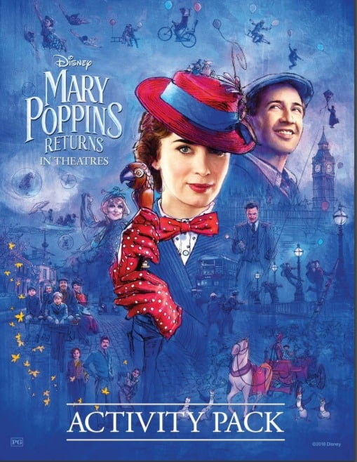 Mary Poppins Returns Activity Pack