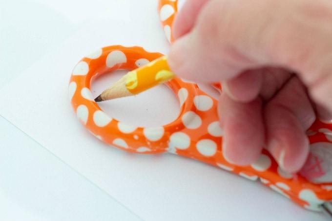 Tracing scissors