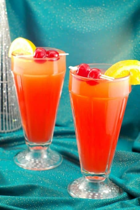 Shirley Temple Mocktails are always a hit