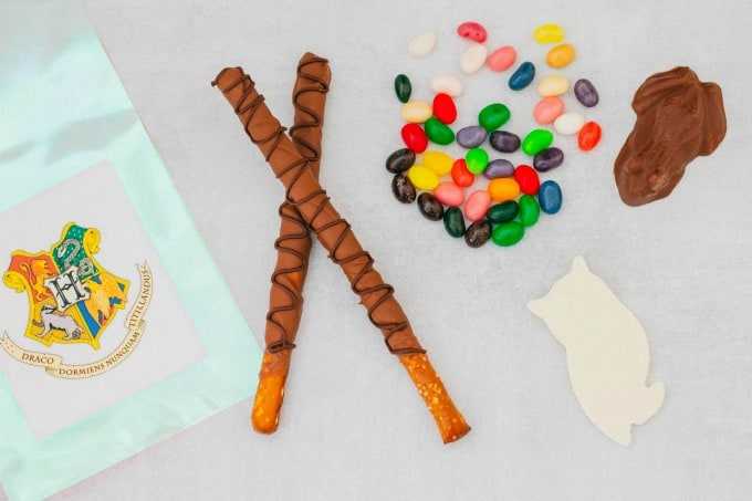 Treats for Harry Potter gift bags