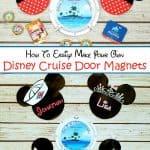 Disney Cabin Door Magnets