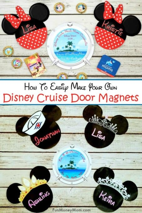 Disney Cabin Door Magnets
