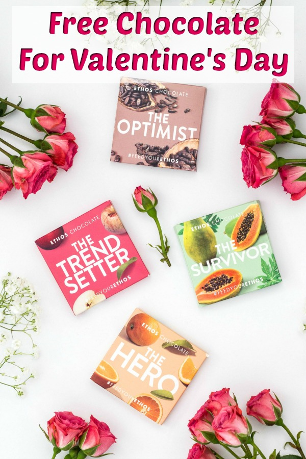 Ethos Chocolate - Want to find out how you can send free Ethos Chocolate to someone special on Valentine's Day? Plus, learn more about what makes these Valentine's Day treats different from the rest! #ad #FeedYourEthos