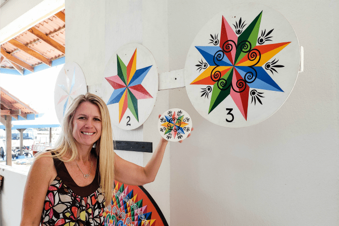 Kids may think painting in Sarchi is one of the best things to do in Costa Rica