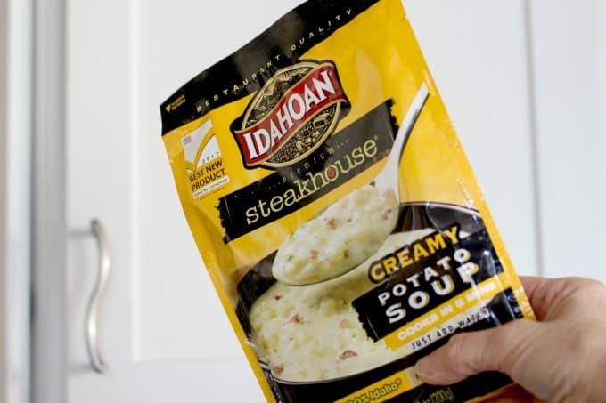 Package of Idahoan Steakhouse Soup
