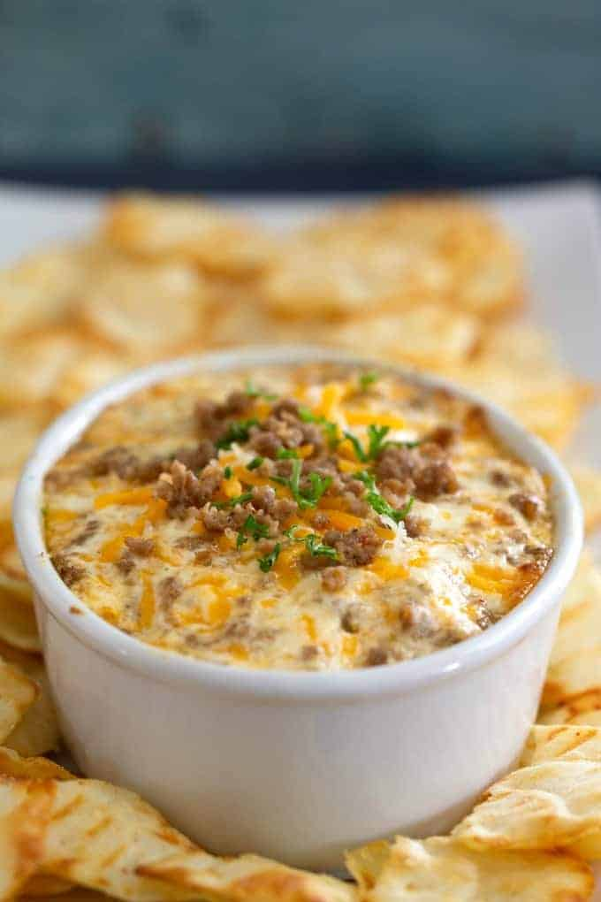 Sausage cream cheese dip for parties
