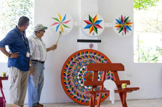 If you're artsy, painting in Sarchi Artisan Village is one of the best things to do in Costa Rica