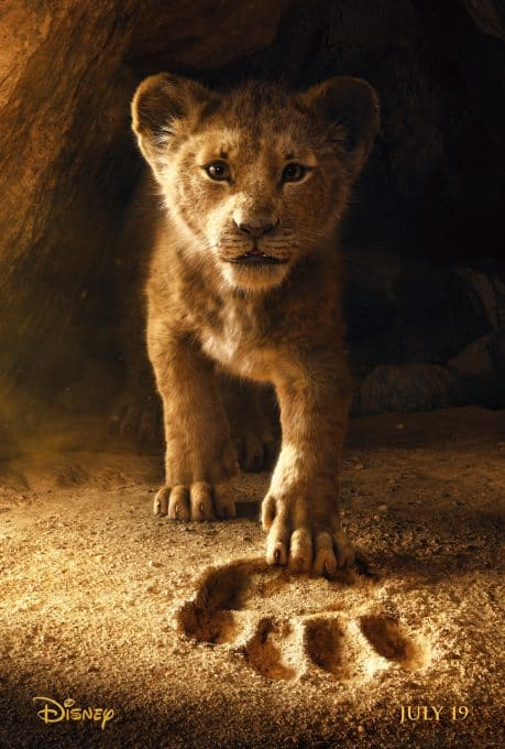 The Lion King live action movie poster