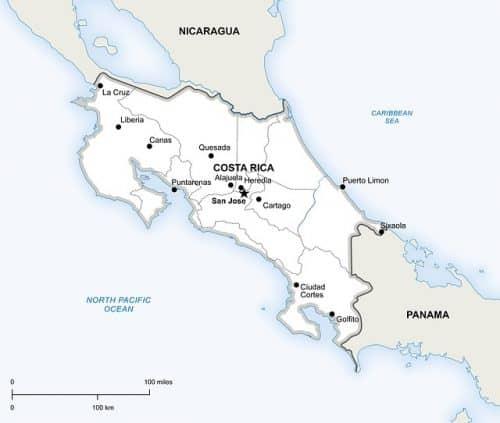 Where is Costa Rica