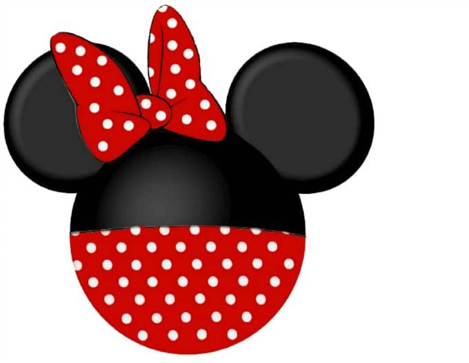 Minnie Disney cruise door magnet template
