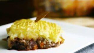 Vegan Shepherd's Pie or Cottage Pie Recipe