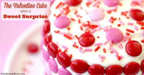 Valentine Cake facebook