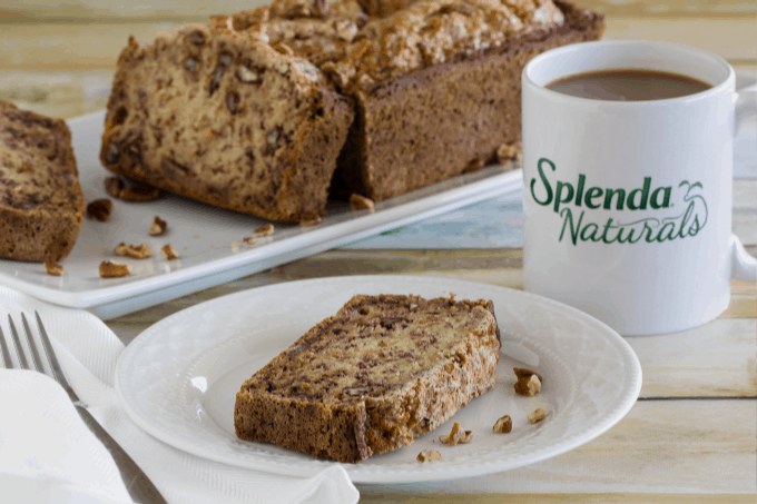 Healthy Banana Bread With Coffee
