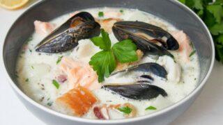 Irish fish chowder - Caroline's Cooking